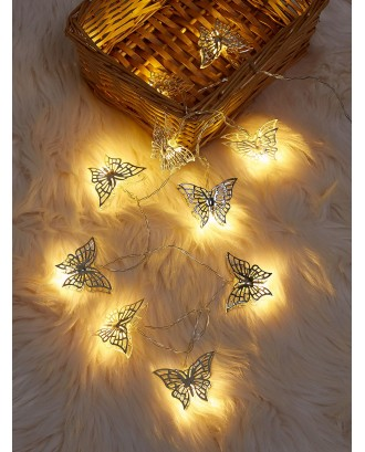 10pcs Butterfly Bulb String Light