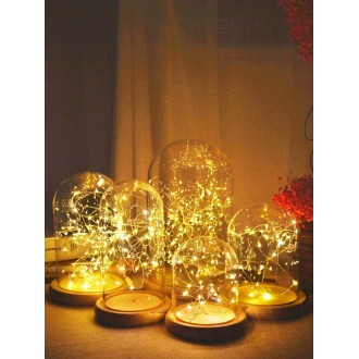 10pcs Bulb Copper Wire String Light